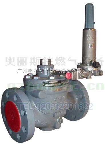 ezr系列燃气调压器 fisher ezr-osx天然气调压器 液化气调节阀 煤气阀图片