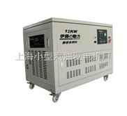 12KW大型燃氣發電機組|靜音燃氣發電機組