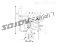 Ax46F先導式安全閥,燃氣安全閥