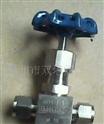 J94W卡套式截止阀/J14W内螺纹角式针型仪表阀