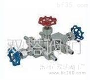 压力表三通针型阀/QFF3针型阀组/1151三阀组