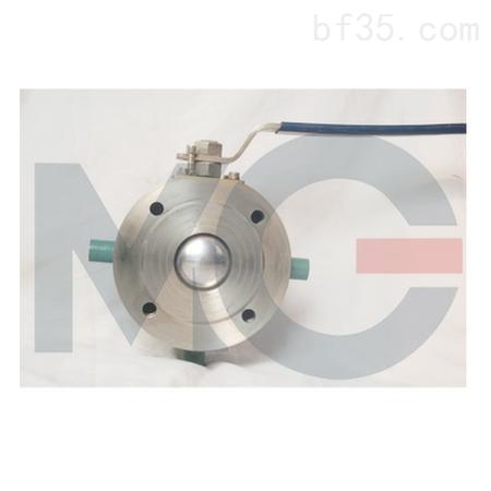 供应米盖bq71f-16p dn50米盖保温对夹超薄球阀图片