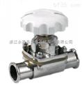 专业生产销售卫生级隔膜阀,不锈钢快装隔膜阀