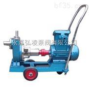25JMZ-30移动式卫生自吸泵,不锈钢卧式自吸泵,无泄漏自吸泵