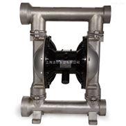 不锈钢气动隔膜泵 上海QBY3-40PF型不锈钢气动隔膜泵