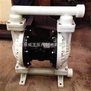 QBY型氟塑料气动隔膜泵 全氟塑料气动隔膜泵 强耐腐蚀气动隔膜泵