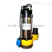 4寸管径2.2KW污水泵 自动浮球液位开关V2200F潜水式排污泵