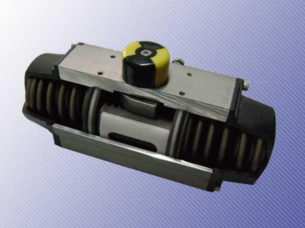 气动执行器气缸工作原理