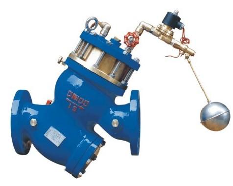 dy100x液压传感浮球阀 遥控浮球阀图片