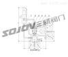 Ax46F先导式安全阀,燃气安全阀